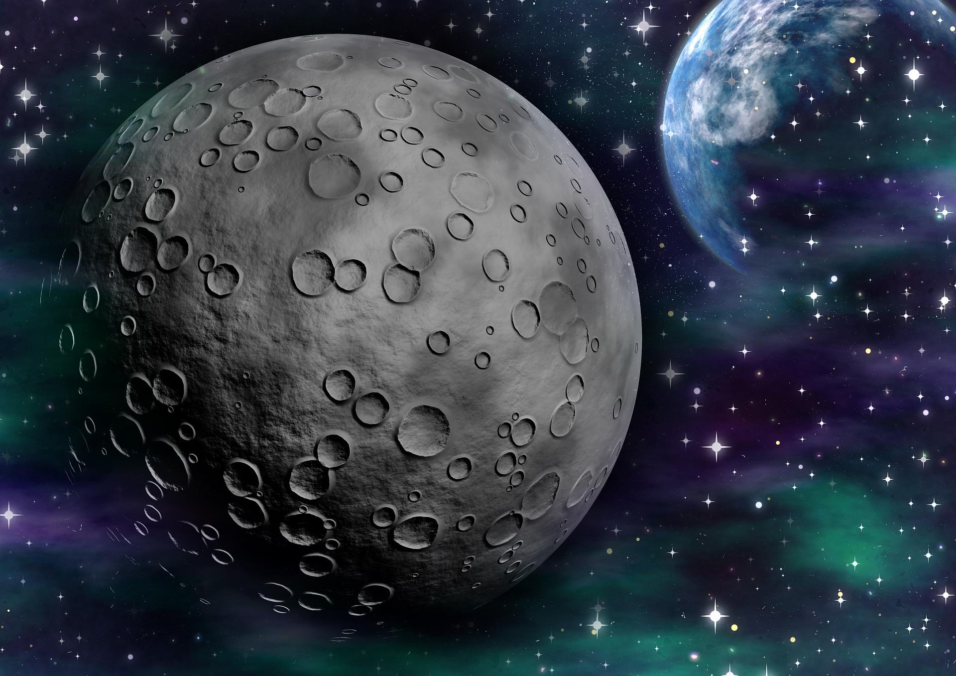 avaruus ja kuu
